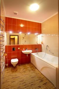 Ванная комната в Отель Red House