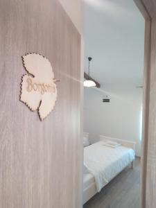 Cama o camas de una habitación en Casa Rossa Motovun