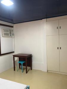 Una televisión o centro de entretenimiento en Casa Arrieta Hostel