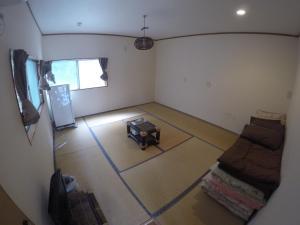 Izu Shirahama Guest House Churaumiにあるシーティングエリア