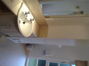 A bathroom at Drumoig Golf Hotel