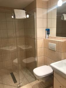 Łazienka w obiekcie Gościniec Boruja