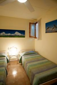 A bed or beds in a room at Apartment Linyola