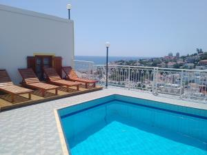 The swimming pool at or near Κastro Ηotel