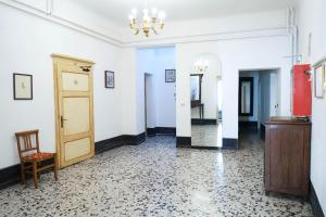 The lobby or reception area at Albergo Tre Donzelle