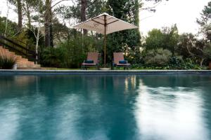 The swimming pool at or near Silvermist Wine Estate