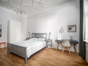 Ein Bett oder Betten in einem Zimmer der Unterkunft City Apartments Siegburg Studios