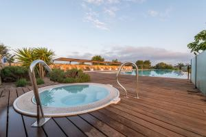 The swimming pool at or near Cas Cabo Nou Agroturismo Adults Only