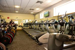 The fitness center and/or fitness facilities at Brandon House Hotel