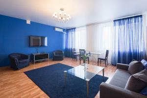 Гостиная зона в Kvart-Hotel Gorky Park