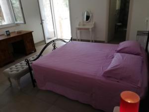 Letto o letti in una camera di Residence Montelci