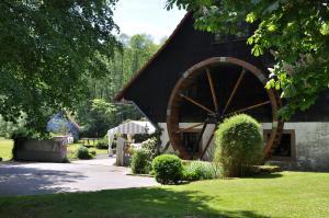 Ein Garten an der Unterkunft Landgasthof Geiersmühle