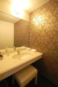 A bathroom at Hotel Excel Okayama