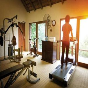 The fitness center and/or fitness facilities at Leopard Hills Private Game Reserve