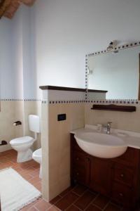 A bathroom at Corte Stellata Holiday Apartments