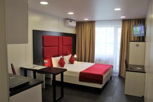 Кровать или кровати в номере Отель City Fox