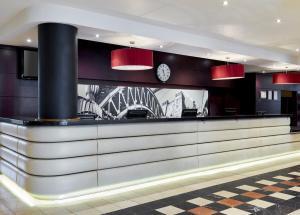 The lobby or reception area at Jurys Inn Newcastle
