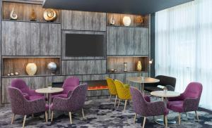 A television and/or entertainment center at Jurys Inn Sheffield