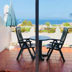 A balcony or terrace at Regency Torviscas Apartments and Suites
