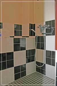 Kamar mandi di Hostel Zen