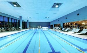 The swimming pool at or near Hotel Marinela Sofia