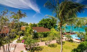 Uitzicht op het zwembad bij Coco Palm Beach Resort - SHA Plus of in de buurt