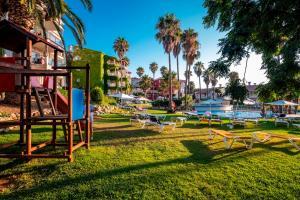 De kinderspeelruimte van Aparthotel HG Jardin de Menorca