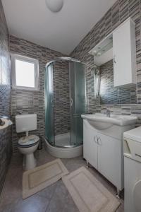 Koupelna v ubytování Apartman Adriatic