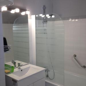 A bathroom at Studio Hesperides