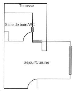 The floor plan of Studio Hesperides