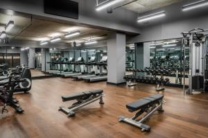 The fitness center and/or fitness facilities at Perry Lane Hotel, a Luxury Collection Hotel, Savannah