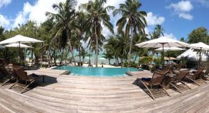 The swimming pool at or near Tiamo Resort