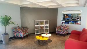 The lounge or bar area at MK Express Hotel