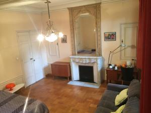 A seating area at La provençale 35 m2 avec garage gratuit sur place