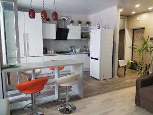 Кухня или мини-кухня в Seaside Studio