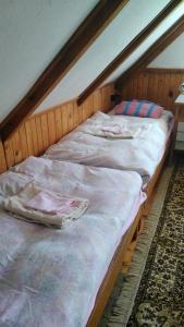 Postel nebo postele na pokoji v ubytování Chalupa Severak