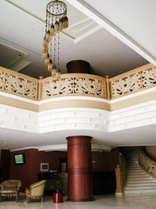 O saguão ou recepção de Milan Deluxe Suites