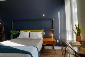 A bed or beds in a room at Deep Ellum Hostel