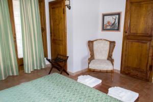A seating area at Agriturismo Poggio Delle Conche