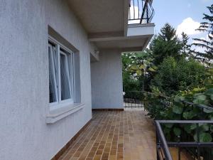 Balkón nebo terasa v ubytování Apartment Vlado