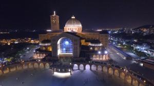Uma vista aérea de Hotel Cathedral