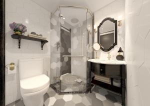 Ein Badezimmer in der Unterkunft Hanoi Graceful Hotel