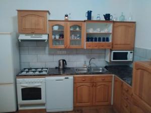 Кухня или мини-кухня в Statek Vranč