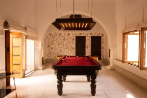 A pool table at RAAS Devigarh