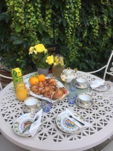 Možnosti raňajok pre hostí v ubytovaní Villa Vodicka