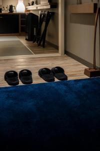京都四條室町黎索酒店健身房和/或健身器材
