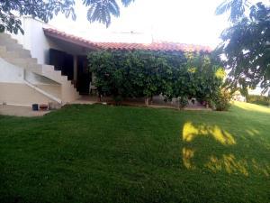 A garden outside Villa Sea Esta