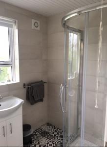 A bathroom at Grange House