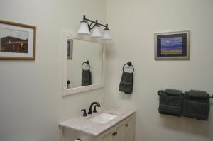 A bathroom at The Ouray Main Street Inn