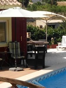 Het zwembad bij of vlak bij Finca EuroPeCa